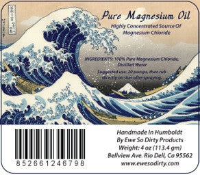 Magnesium Oil, 4oz.