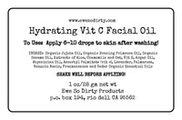 Hydrating Vitamin C Facial Oil, 1 ounce