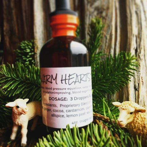 Warm Hearts Tincture, 4 oz.