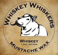 Whiskey Whiskers Mustache Wax