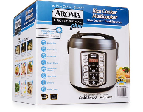 Aroma Professional Plus  Digital Rice Cooker-Food Steamer-Slow cooker and more