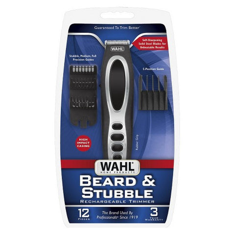 Wahl Beard & Stubble Rechargeable Trimmer Model# 5598