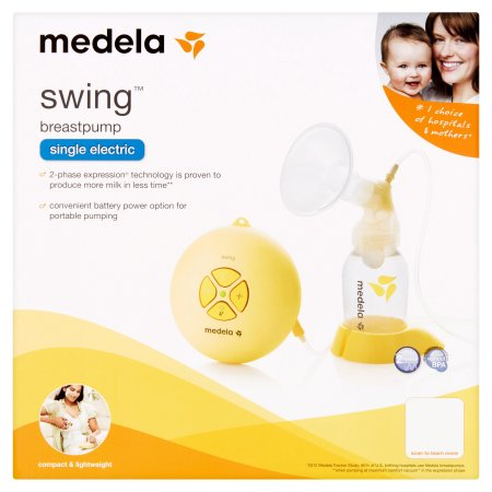 Medela Swing Breastpump Single Electric New Sealed Brandnames4u