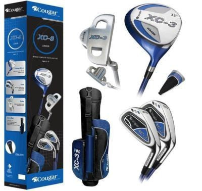"Cougar XC-3 6 Piece Complete Youth Golf Set 44""-55"""