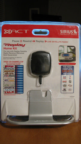 Sirius Radio- XACT Replay Home Kit  XS082