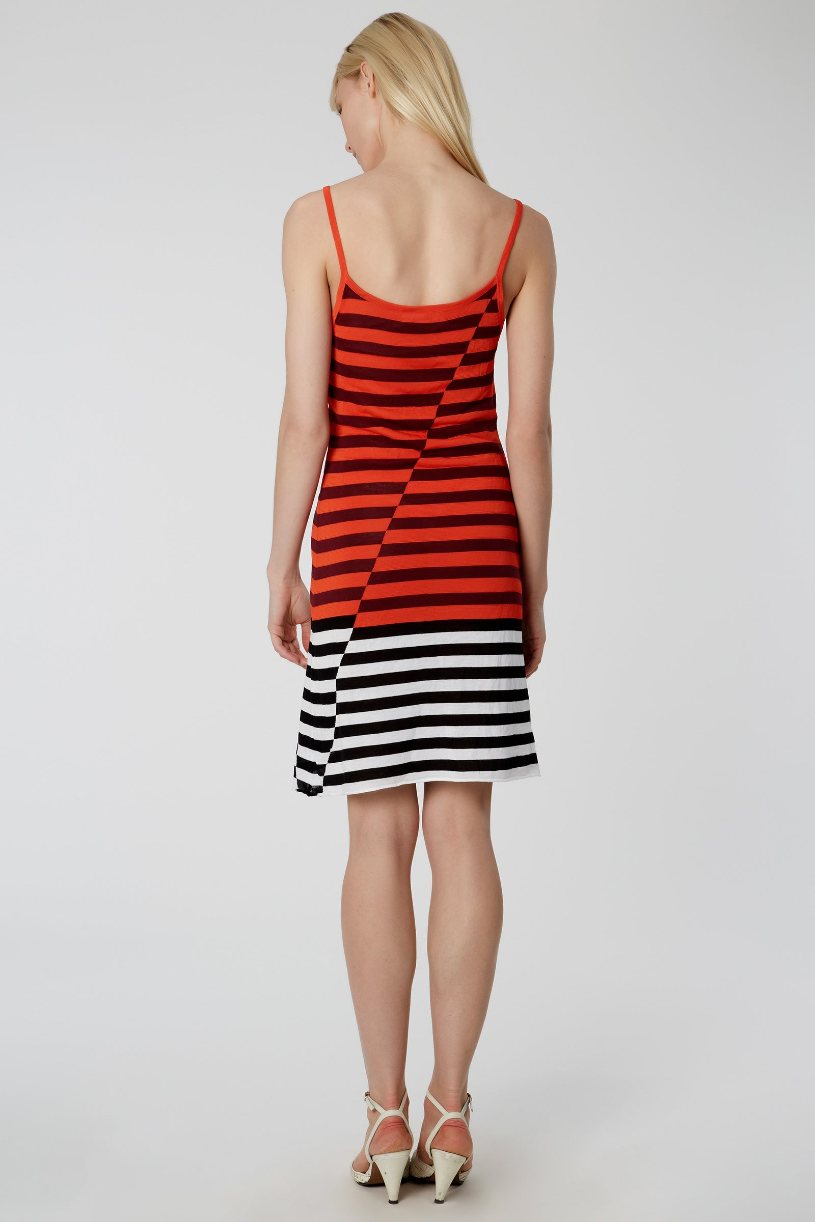 Broken Stripe Cami Dress