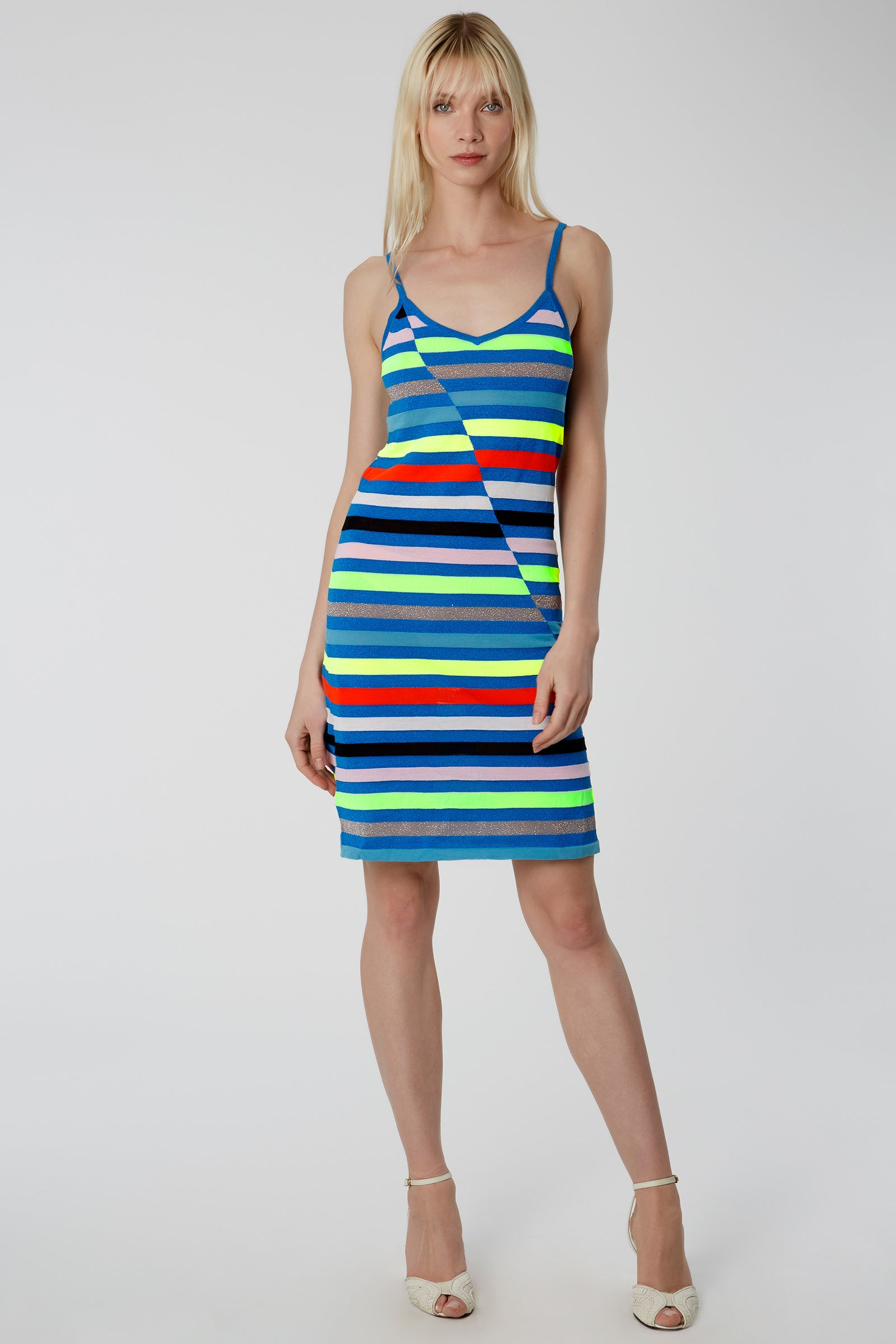 Hawaii Stripe Cami Dress