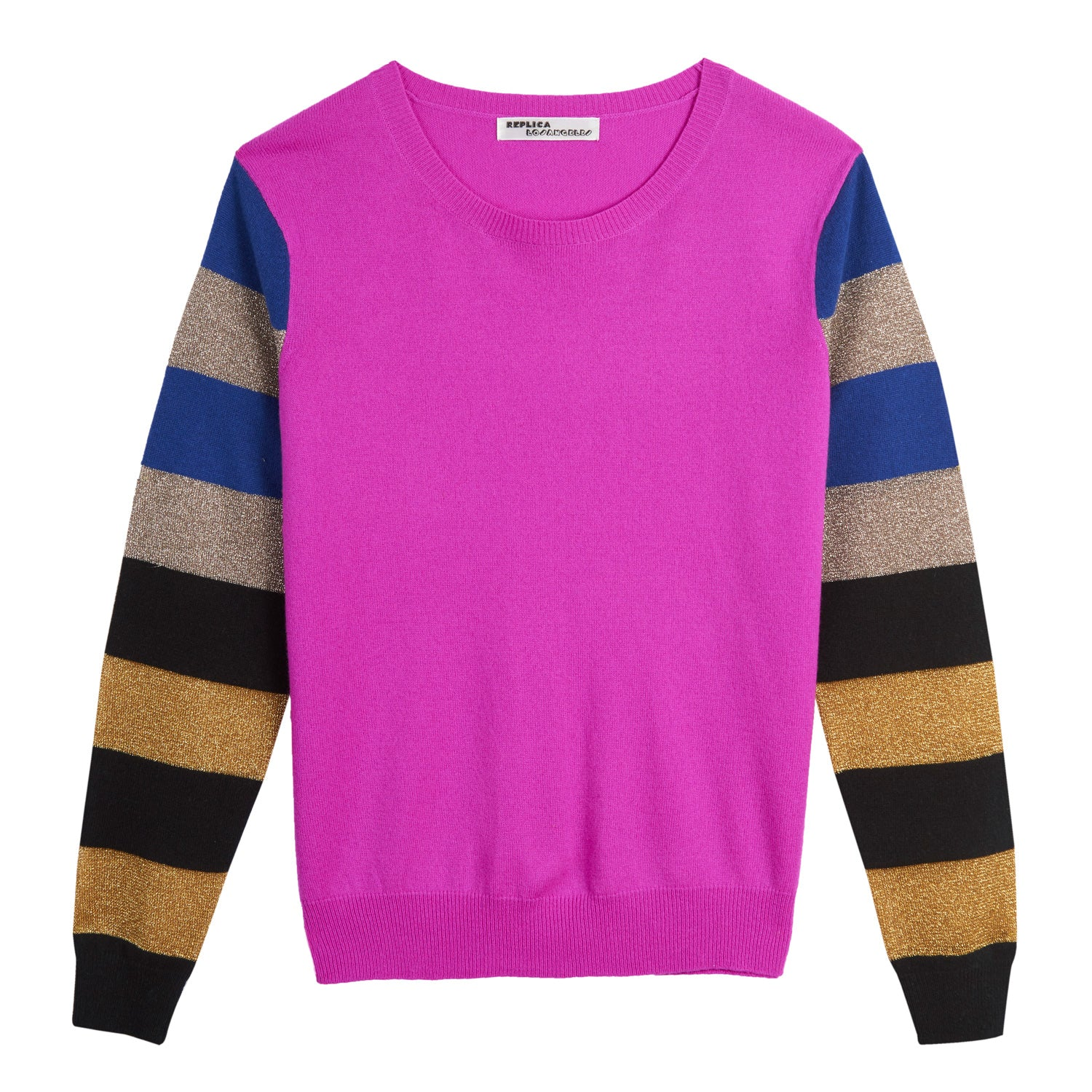Cashmere and Lurex Discoball Sweatshirt