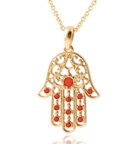 The hamsa hand meaning and origin lets go in depth red rain buddha hamsa hand necklace aloadofball Gallery