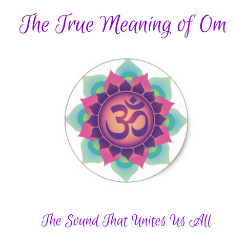 The True Meaning Of Om Red Rain Buddha