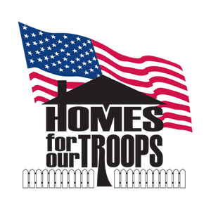 Round Up for Homes for Our Troops