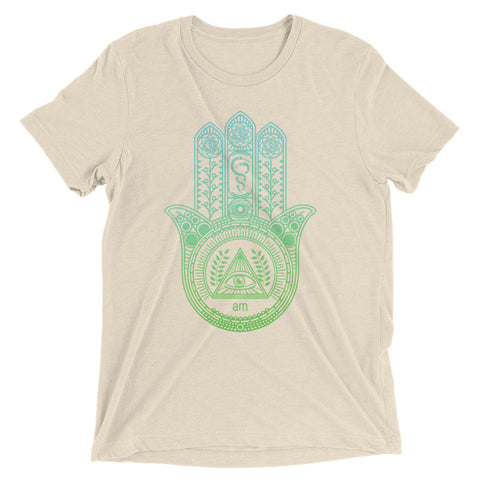 "Hamsa Hand ""Eye Am"" 