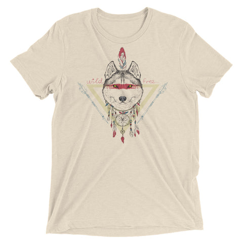 Wild and Free Dreamcatcher Wolf | Unisex Short sleeve t-shirt
