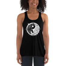 Load image into Gallery viewer, Yin Yang Tattoo Art | Women's Flowy Racerback Tank