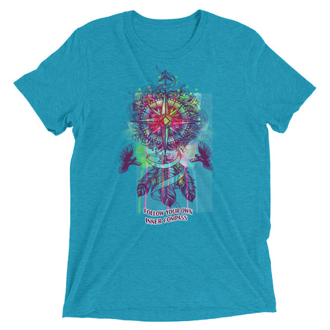 Image of Find Your Own Inner Compass | Unisex Short sleeve t-shirt