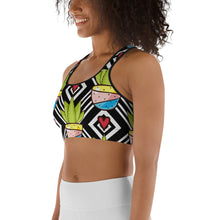 Load image into Gallery viewer, Love All Plants | Cactus Love Sports bra