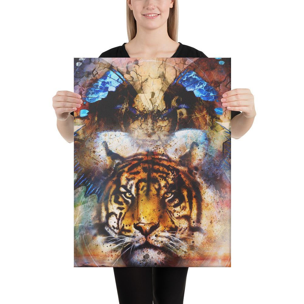 The Lioness Inside Her - Canvas Art