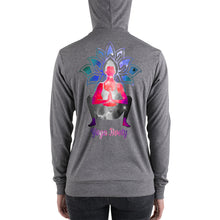 Load image into Gallery viewer, Yoga Booty | Women's Unisex zip up hoodie