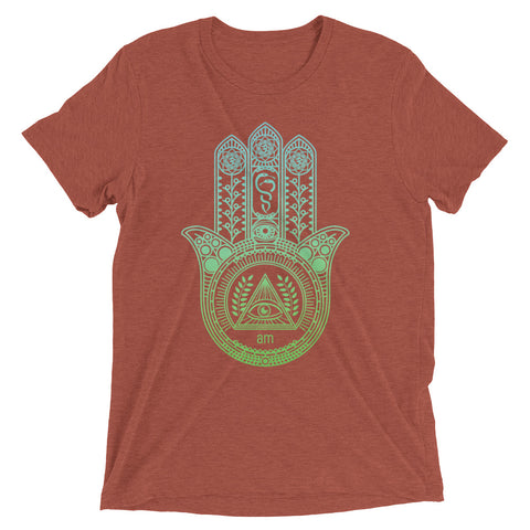 "Image of Hamsa Hand ""Eye Am"" 