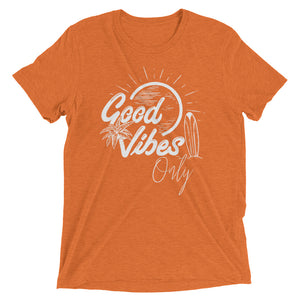 Good Vibes Only | Unisex Short sleeve t-shirt