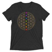 Load image into Gallery viewer, 7 Chakra Flower Of Life Pendant