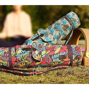 Canvas Cotton Yoga Mat Bag Carrier
