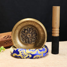Load image into Gallery viewer, Tibetan Chakra Healing Meditation Singing Bowl Set With Mallet
