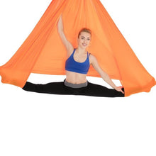 Load image into Gallery viewer, Aerial Yoga Hammock Swing Includes Daisy Chain/Carabiner