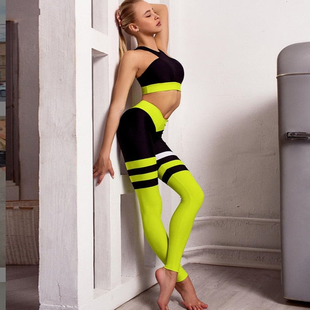 Sporty Girl Yoga Set