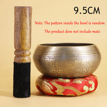 Load image into Gallery viewer, Nepal Handmade Tibetan Singing Yoga Bowl Set with Mallet