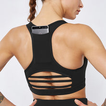 Load image into Gallery viewer, Sexy Back Pocket Yoga Sports Bra