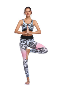 Pastel Peace Yoga Set