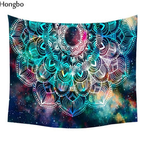 Bohemian Yoga Wall Tapestry