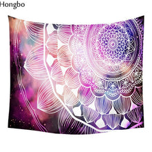 Load image into Gallery viewer, Bohemian Yoga Wall Tapestry
