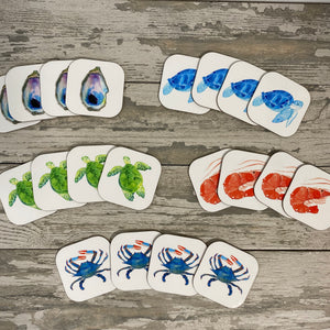 Watercolor Hardboard Coasters