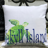 "Turtle Pillow ""Your Town"""