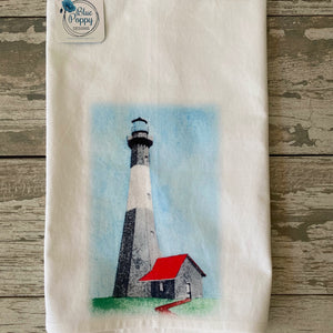 Lighthouse Watercolor Kitchen Towel