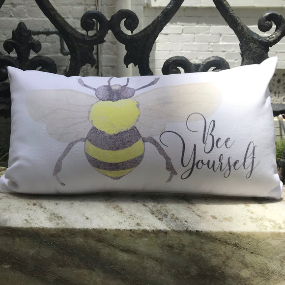 Bee Yourself Pillow
