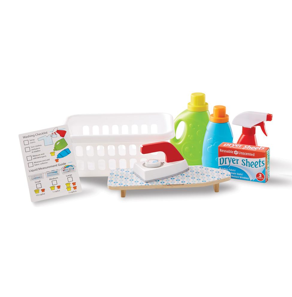 Melissa & Doug Laundry Basket Play Set