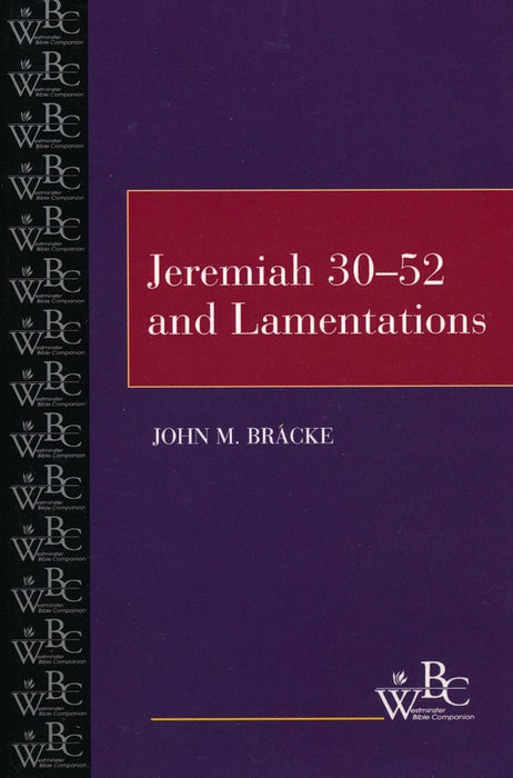 Jeremiah 30 To 52 and Lamentations