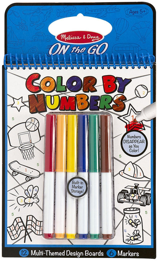 Melissa & Doug Color By Numbers (Blue)