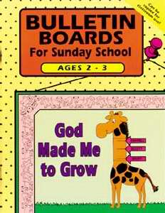 Bulletin Board: For Sunday School Ages 2-3