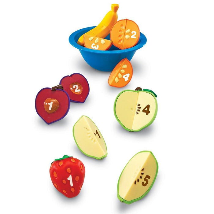 Learning Resources Smart Snacks Counting Fun Fruit Bowl