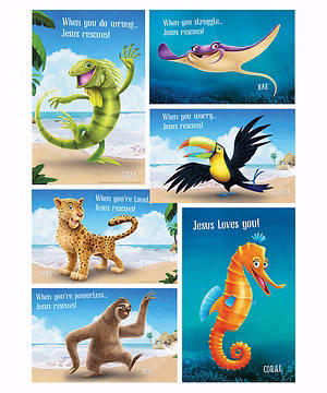 Shipwrecked Bible Point Posters (Set of 5)