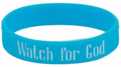 Watch for God Wristbands (Pkg. of 10)