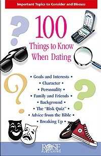 100 Things To Know When Dating Pamphlet (Single)