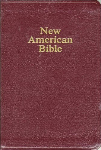 NABRE Deluxe Gift Bible-Burgundy Bonded Leather