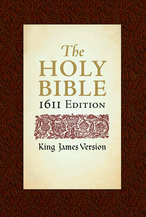 KJV 1611 Edition Bible w/Apocrypha-Hardcover (Value Price)