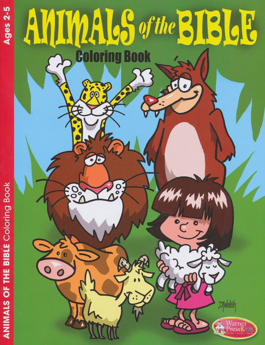 Animals of the Bible Coloring Activity (2-5)
