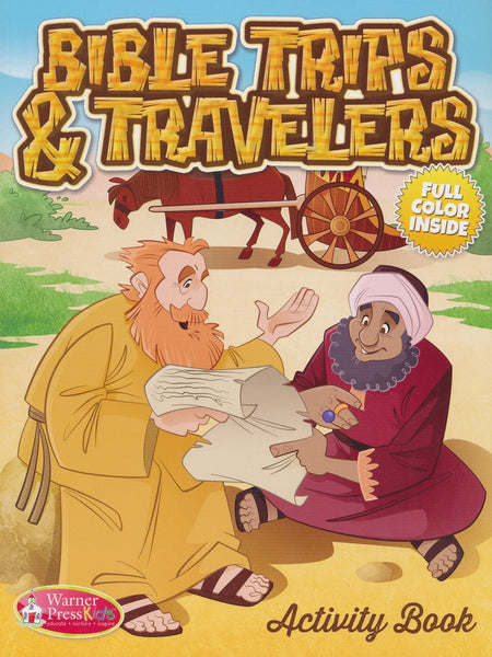 ACTIVITY BK/6-10/Bible Trips and Travelers